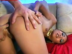 Russian cutie 'Sexy_b0rsch' double fucking herself