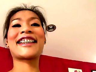 Swank Thai slut auditions for sex job