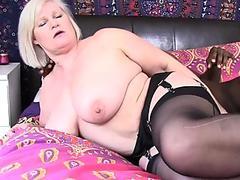 Fat granny gets blacked