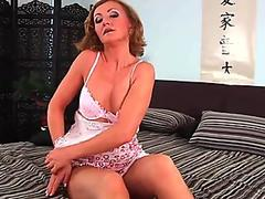 granny with nice jugs gets fucked by guy half her age