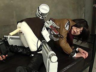 brunt on titan cosplayer got bound and sexually molested