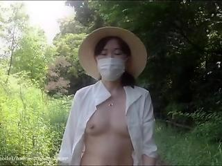 Japanese exhibitionist wife (Blurred ver.) - The Secret VLOG Episode 46