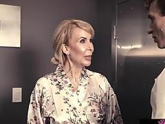 Private nurse fuck massage with a rich widower Erica Lauren