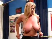 Gorgeous sex-crazed people in one sex orgy