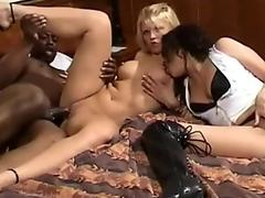 Lesbian parents fuck daughter