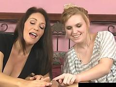 Watch free Cute teen intense ass to mouth POV