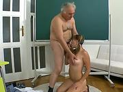 Bigtits mommy prefers hard anal with her slave