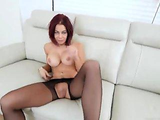 Do The Wife - Big Tits Housewife Showing Hubby How to Fuck Compilation 3