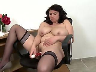 Busty natural matures with hungry holes
