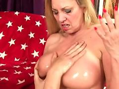 Young and Milf slaves fucking threesome