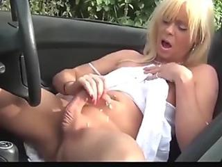 Twinky guy toying his long hard cock until its cumming time