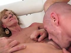 Puma Swede happy for the cum load on face