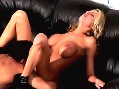 Huge boobs Brooklyn Chase milking cock