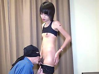 Delicious Asian Girl Boy In Chains