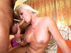 Her Mother Gives The Best Blowjob From Heaven!